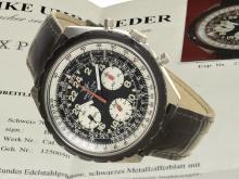 Wristwatch: oversize chronograph Breitling Navitimer Cosmonaute ref. 819, ca. 1975 (NO LIVE FEE)