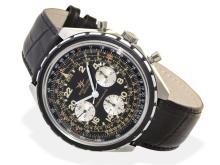 Wristwatch: oversize Chronograph Breitling Navitimer Cosmonaute ref. 819, ca. 1970 (NO LIVE FEE)