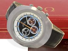 Wristwatch: popular Omega chronograph 'Anakin Skywalker' from the 70s, rare good condition (NO LIVE FEE)