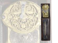 Miniature clock: very rare Japanese pillar clock with verge escapement, ca. 1800 (NO LIVE FEE)