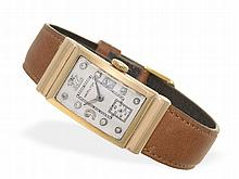 Wristwatch: Extremely rare pink gold Hamilton