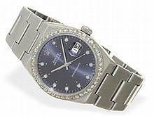 Wristwatch: Rare Rolex Datejust Oysterquartz chronometer with diamond dial
