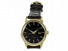Wristwatch: High-class IWC Ingenieur, ca. 1960, ref. 666, 18 K gold