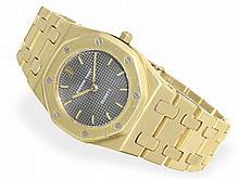 Wristwatch: Lady's watch Audemars Piguet Royal Oak 18K gold