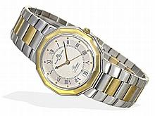 Wristwatch: Luxurious automatic Baume & Mercier Geneve Riviera, stainless steel / 18K gold