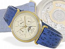 Wristwatch: Fine automatic gentlemen's watch with astronomical calendar and gold rotor, Chronoswiss/Kelek ref. 5287