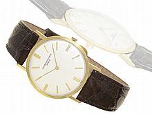 Wristwatch: Elegant and super flat Vacheron & Constantin gentlemen's watch ref. 6115, ca. 1960