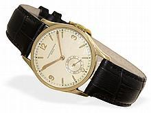 Wristwatch: Early gentlemen's watch by Vacheron & Constantin Geneve, 18 K gold, ca. 1940