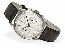 Wristwatch: Gentlemen's chronograph by Zenith, ca. 1950, very good condition