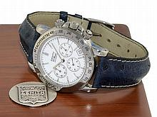 Wristwatch: Stainless steel chronograph Zenith El Primero Rainbow re. 01.0360.400 with box and certificates, nearly like new