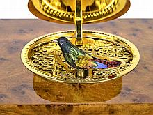 Very fine Reuge singing bird box, like new, with original box, Switzerland 20th century