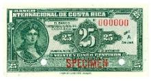 Costa Rica (Costa Rica) Pick 156