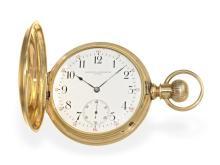 Pocket watch: rare Vacheron & Constantin Ankerchronometer with rare patent regulator, so-called ' Demi-Chronometer', made for the American market ca. 1890 (NO LIVE FEE)