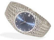Wristwatch: very luxurious gentlemen's watch Audemars Piguet automatic reference 5403, formerly world's thinnest gentlemen's wristwatch (NO LIVE FEE)