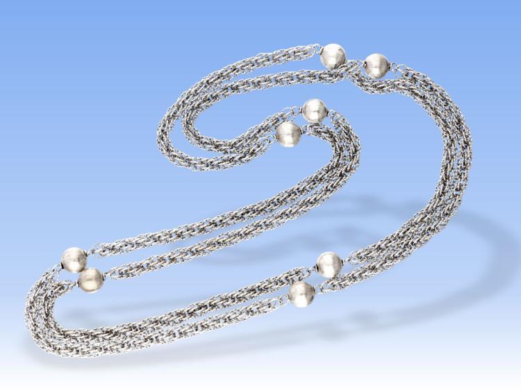 Vintage white gold necklace by Dupré