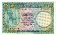 Belgisch Kongo (Congo - Brazzaville) Pick 27 b