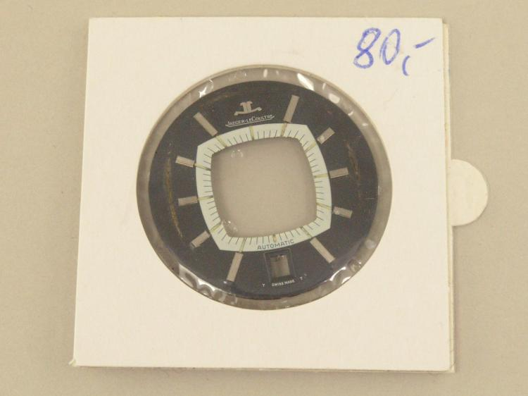 Armbanduhr: Zifferblatt einer Jaeger Le Coultre Memovox Kaliber 916