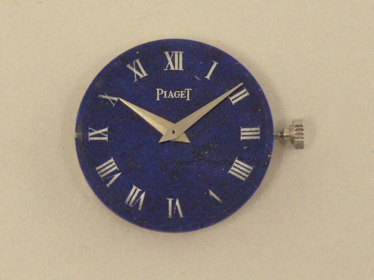 Armbanduhr: Werk einer vintage Piaget Damenuhr Kaliber 9P