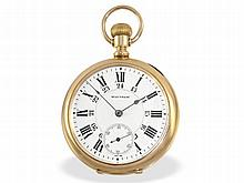 heavy American precision pocket watch, Waltham 1906