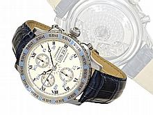 Longines steel chronograph