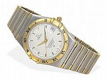 gentlemen's wristwatch Omega Constellation Chronometer Automatic, stainless steel/18 K gold