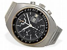 Omega Speedmaster chronograph with day and date, 24-hour register, from the 70s
