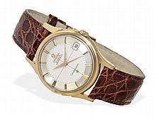 fine Omega Constellation automatic chronometer, 18 K pink gold, ca. 1960