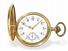 gold huntingcase watch ca. 1900
