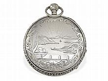 rare pocket watch with music movement and repetition, Louis Duchene & Fils Geneve, ca. 1810