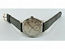 big Omega men's wristwatch, steel, 1940s