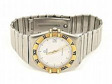 Omega Constellation steel/gold men's wristwatch