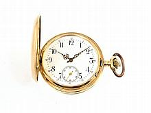 gold pocket watch by Aureole