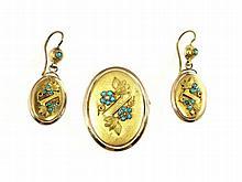 turquoise jewellery, 19th-century, Vienna