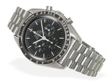 Wristwatch: popular vintage chronograph, Omega Speedmaster 'Moonwatch' from 1985 (NO LIVE FEE)