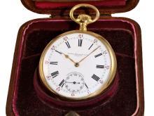 Pocket watch: very rare Patek Philippe Ankerchronometer 'Gondolo' with original box, Geneve 1912 (NO LIVE FEE)