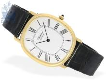 Wristwatch: flat gentlemen's watch, 18 K gold, Chopard 'Ellipse'