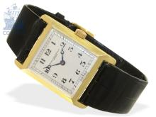 Wristwatch: Patek Philippe rarity, extremely early wristwatch, ca. 1920, Ankerchronometer (NO LIVE FEE)