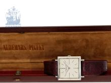 Wristwatch: very flat and rare vintage gentlemen's watch by Audemars Piguet, legendary caliber 2003, Geneva 1956 (NO LIVE FEE)