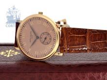 Wristwatch: like new, unused Patek Philippe Calatrava Rosé Ref.5022, with original box (NO LIVE FEE)