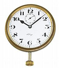 Ship clock with 8-day movement