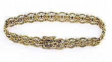 Antique gold bracelet around 1900