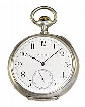 Zenith gentlemen's pocket watch around 1905