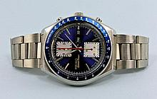 Seiko Speed ??Timer chronograph with day and date display