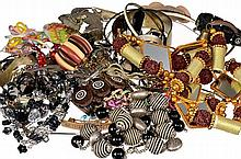Assortment of fashion jewellery, approx.10 kg, repository