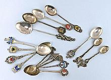Small collection of vintage silver spoons