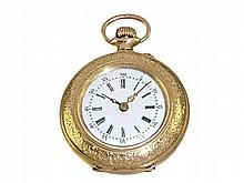 Ladies' gold pocket watch around 1900