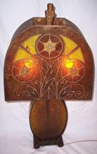 FINE QUALITY & RARE ART DECO LAMP