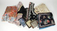 A Large Group of Asian Textiles