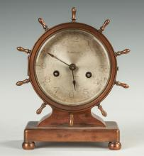 Waterbury Brass Ship's Clock
