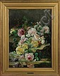 Jan Francois Verhas (Belgian, 1834-1896) Floral still life, Frans Verhas, Click for value